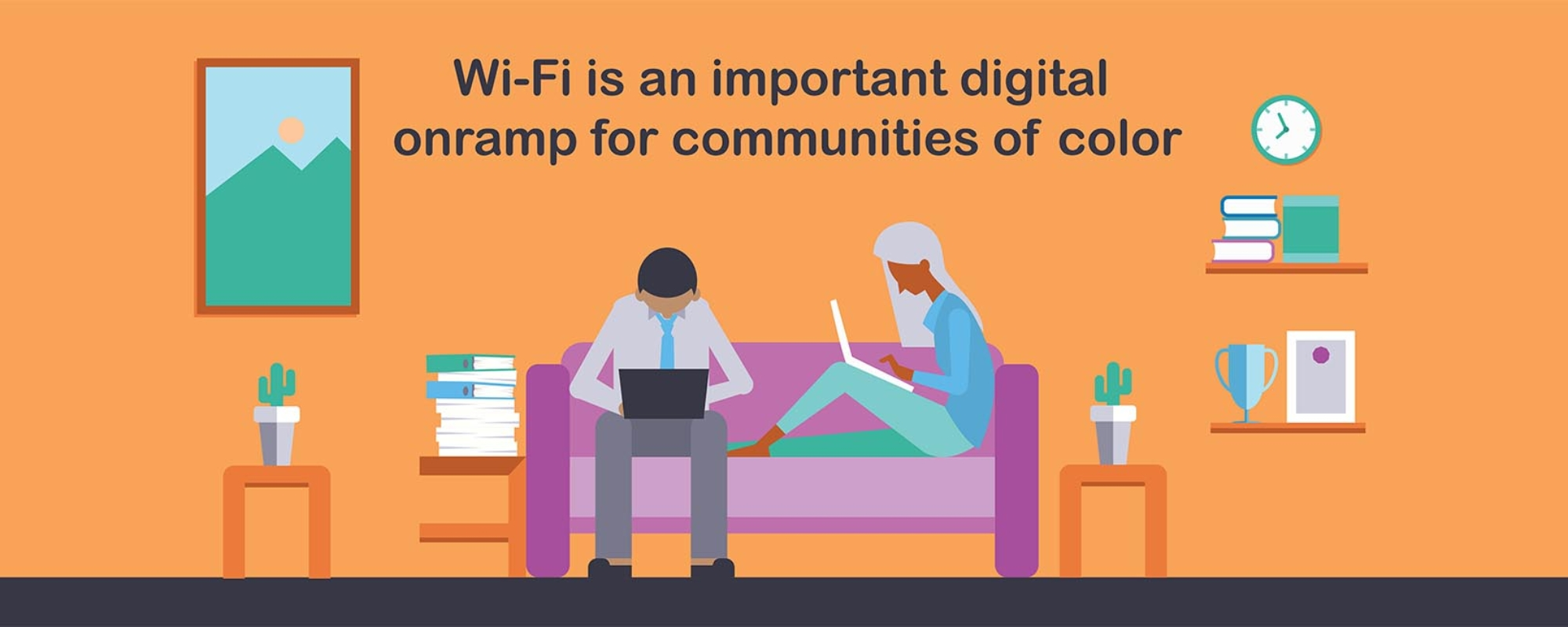 Wi-Fi is an important digital onramp for communities of color
